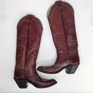 Olathe Boot tall western cowboy boots